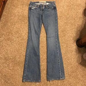 Hollister Cali Flare stretch wide leg jean